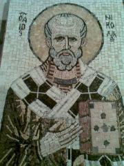 Роспись храмов мозаикой из мрамора, укладка стен храмов мозаикой