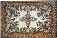 Мраморный пол, пол выполненый мозаикой из мрамора, мозаика на заказ