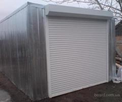 Garages from a professional flooring