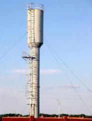 Установка водонапорных башт