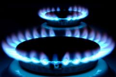 Gas supply of average pressure
