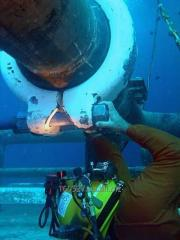 Подводное обследование ГТС и акватории