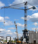 Expert and technical inspection of tower cranes of