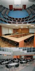 Lease of conference halls