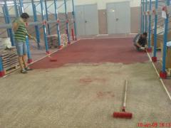Restoration of floors, repair of floors