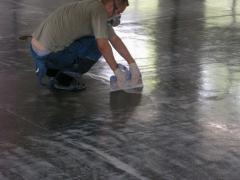 Alignment of floors, painting of floors Kiev, bulk