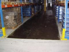 Impregnation for concrete, dust removal of the