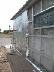 Penoizol Utepleniye of industrial buildings