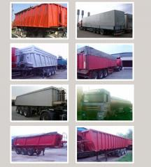 Delivery of loose building materials Kiev,