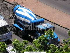 Services of cars for concrete works of Cornflowers