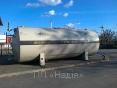 Production of capacities for storage of zzhizhenny