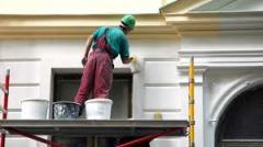 Front plaster works Kiev, Kiev region