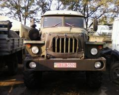 Dismantling Urals 4320, Urals-375