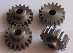 Gear-cutting works