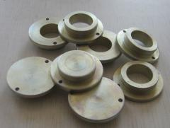 Processing of non-ferrous metals on grinders