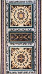 Укладка мозаики в ванной комнате, готовые мозаики