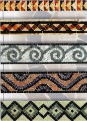 Мозаичное оформление фасадов, фасадные рисунки под