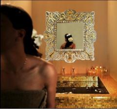 Дизайн ванной, декор интерьера мозаикой на заказ, Тернополь