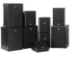 Rent of the sound equipmen