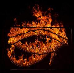 Световое, огненно-пиротехническое шоу, надписи