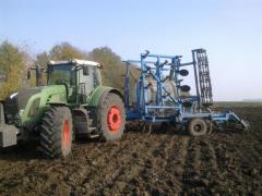 Adding ammonia water. We are working in Ukraine