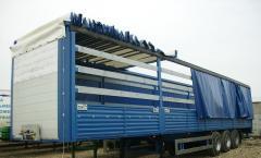 Пошив,  ремонт тентов на грузовые автомобили