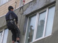 Установка тепло- и гидроизоляции на фасадах зданий