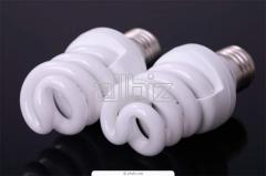 Utilization of the luminescence lamps and