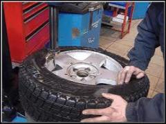 Ремонт автошин легковых и грузовых автомобиле