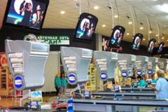 Advertizing in supermarkets, shopping centers,