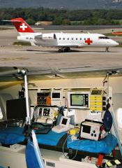 Medical charter Medical evacuation in Ukraine to