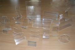Products from plexiglas