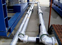 Diagnostics and repair of pipelines of steam and