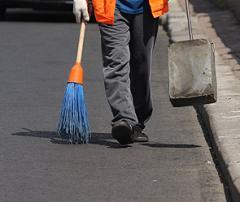 Услуги по уборке улиц