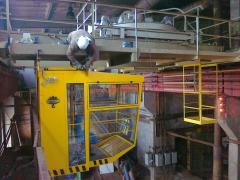Dismantle of the crane equipmen