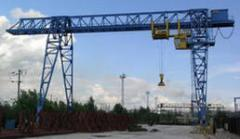 Repair of gantry cranes of all types