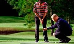 Обучение игре в гольф