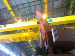 Modernization of cranes
