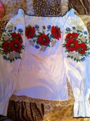 Вышиваю сорочки бисером