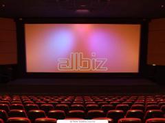 Монтаж оборудования для мобильных кинотеатров 5d, 7d.