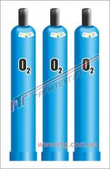 Delivery: oxygen technical GOST 5583-78, GOST