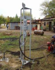 Drilling of wells in Ternopil