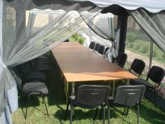 Аренда банкетных, фуршетных столов, мебели