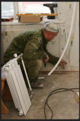 Монтаж обособленных систем отопления (автономных)