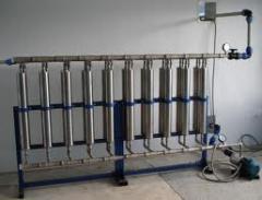 Установка фильтра очистки воды со сбросом в