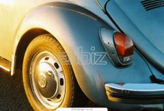 Безпокрасное удаление вмятин на автомобилях
