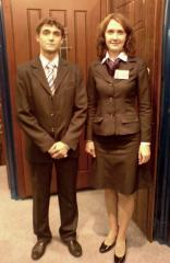 Tailoring of suits female, man's to order in
