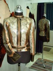 Ailoring of a leather jacket Kiev