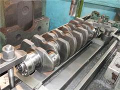 Repolishing of cranked shaft of cars
