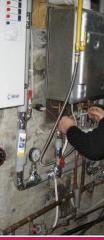 Repair of boilers of heating